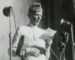 MA Jinnah on 14 August 1947