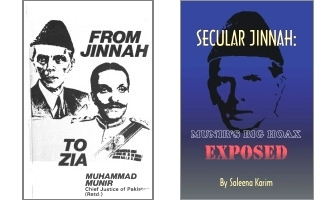 From Jinnah to Zia and Secular Jinnah covers