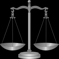 Justice, represented by scales