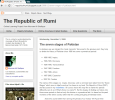 Seven Stages article at Republic of Rumi website
