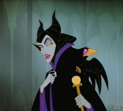 Maleficent in Disney's Sleeping Beauty (1959)